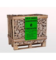 Wooden Crate Ash Firewood 1.17M³/25cm Kiln Dried