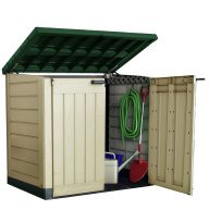 Keter Store It Out Max Garden Box Green Lid